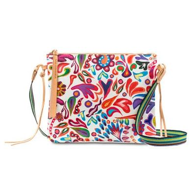 Consuela's White Swirly Crossbody Purse