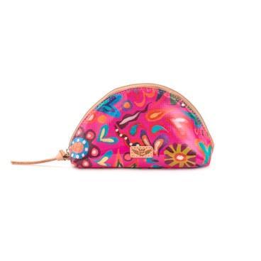 Consuela's Pink Swirly Medium Cosmetic Bag