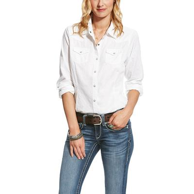 Ariat Women's White Challenger Shirt