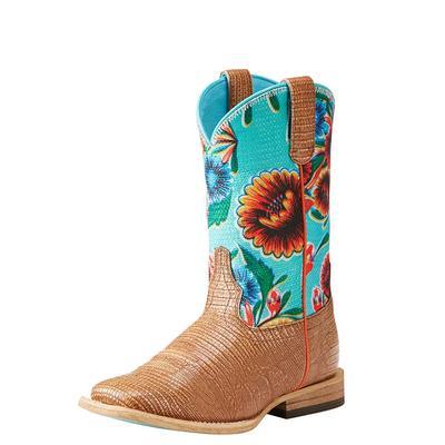 Ariat Girl's Gringa Lizard Print Boots