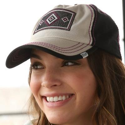 Cruel Girl Women's Embroidered Patch Trucker Cap