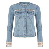 Esqualo Women's Embellished Jean Jacket