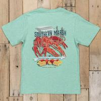 Southern Marsh Boy's Green Crawfish Festival T-Shirt