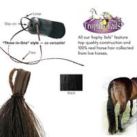 Professional's Choice Tail Tamers Trophy Tails-Black 1/2# Extension