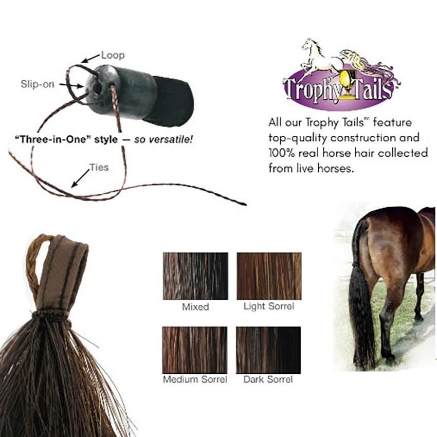 Professionals Choice Tail Tamers Trophy Tails 12 Extension
