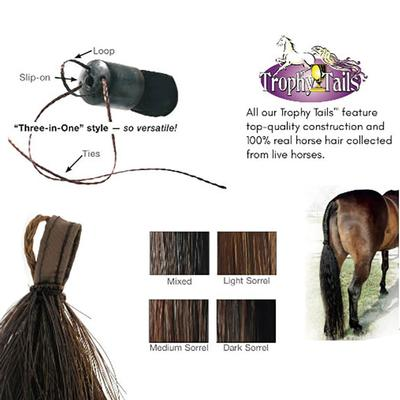 Professional's Choice Tail Tamers Trophy Tails 1/2# Extension
