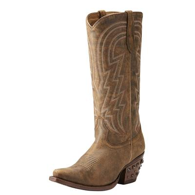 Ariat Women's Brown Leather Diamante Boots