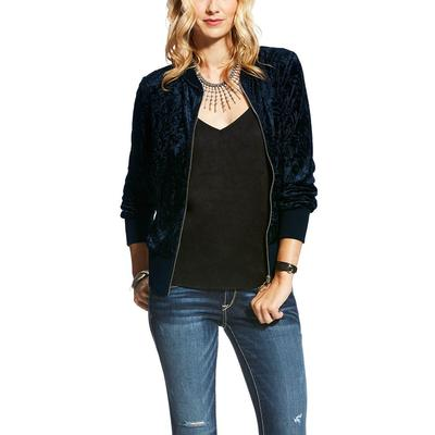 Ariat Women's Midnight Blue Bomber Jacket