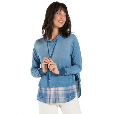 Bella Dahl Women's Shirt Tail Hooded Top