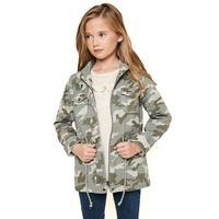 Hayden Girl's Camo Cargo Jacket
