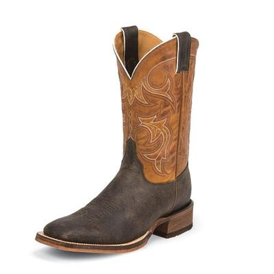 Justin Men's Caddo Dark Brown Boots
