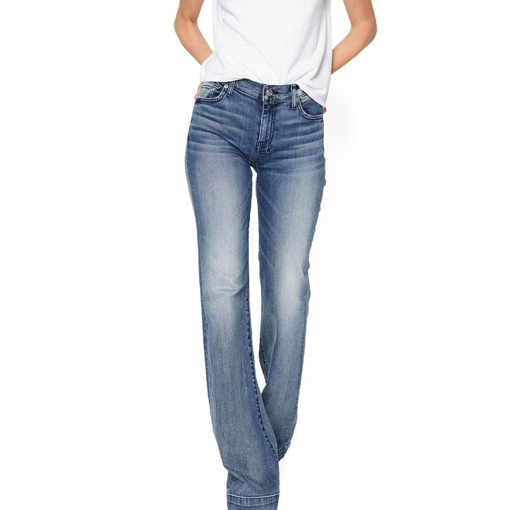7 For All Mankind Women s Tailorless Dojo In Wall Street Heritage Jeans  Item   AU115S44A-WSH 4dee6fc80