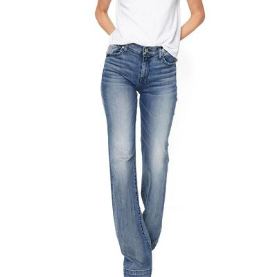 7 For All Mankind Women's Tailorless Dojo In Wall Street Heritage Jeans