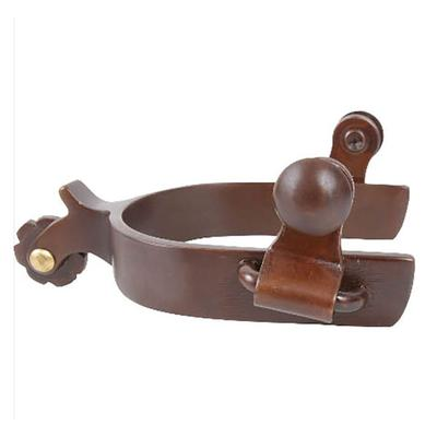 Classic Equine Browned Iron Youth Spur