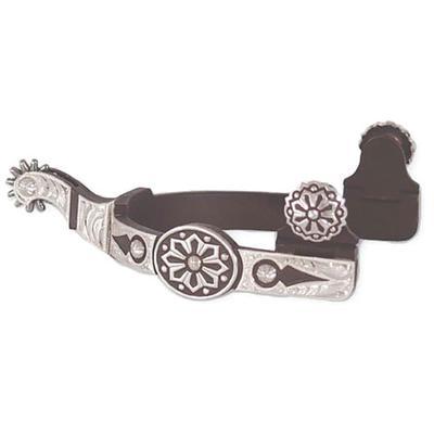 Classic Equine Aztec Design Spur