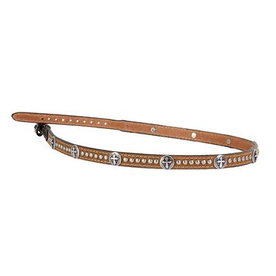 M&F Western's Studded Cross Hatband