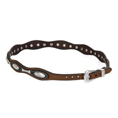 M&F Western's Oval Concho and Bar Hatband