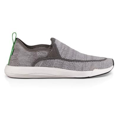 Sanuk Men's Gray Chiba Quest Knit Slip On Shoe