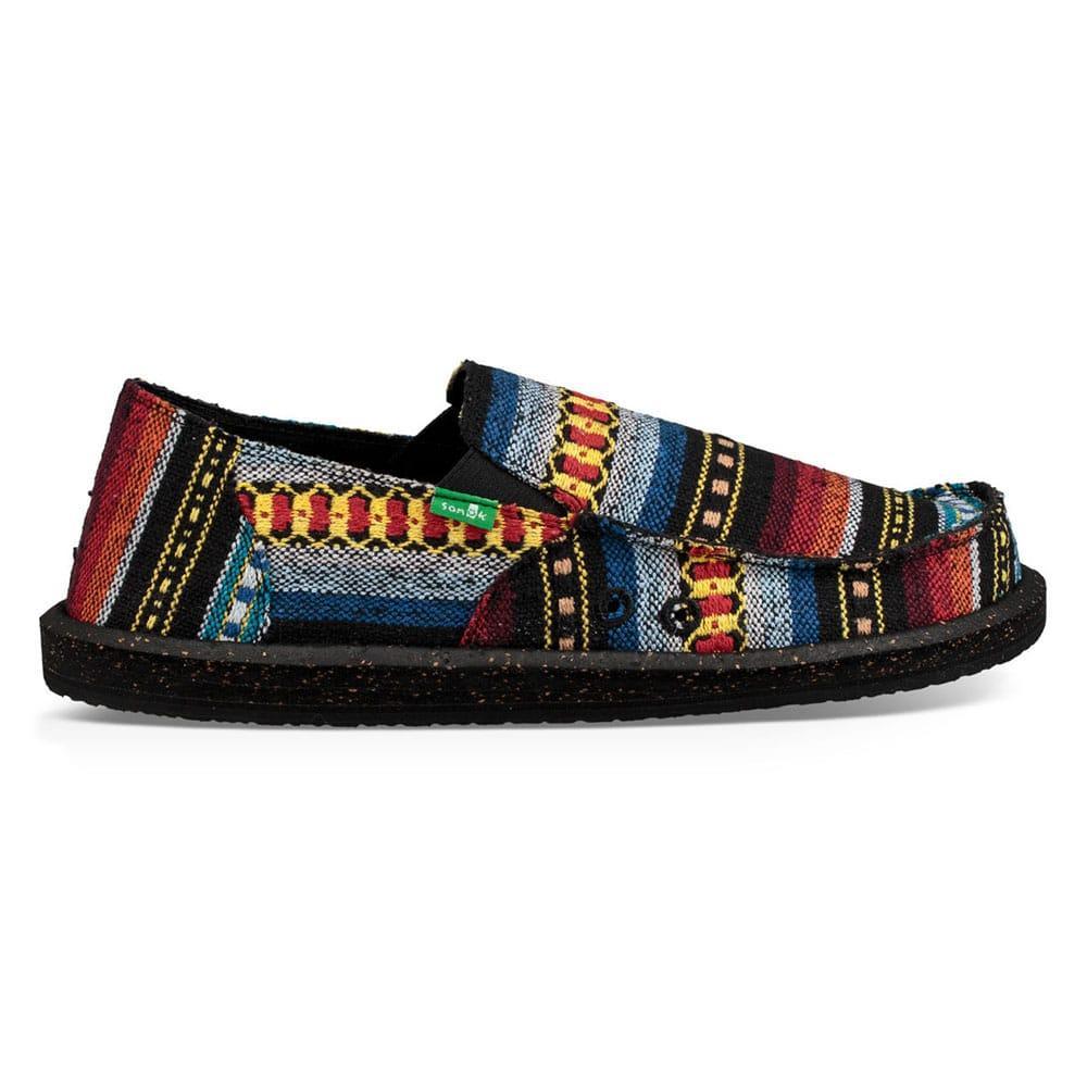 4c3b994912 Sanuk Men s Red Blanket Vagabond Funk Shoes