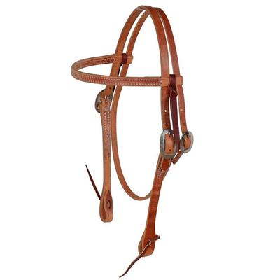 Berlin Custom Leather Browband Harness Leather Headstall
