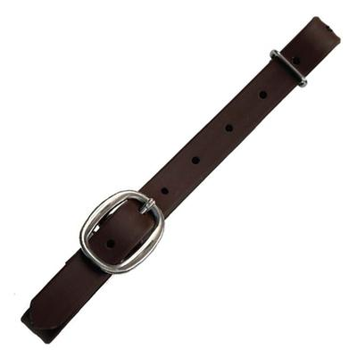 Berlin Custom Leather Heavy Duty Brown Beta Connector Strap