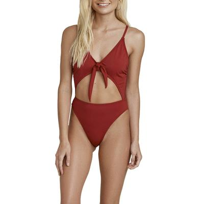 Dippin' Daisy's High Cut Tie Front One Piece