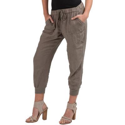 Elan Women's Tie Waist Pants