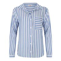 Esqualo Women's Striped Pocket Shirt