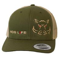 Outdoor Crew Men's Brush Country Hog Life Cap