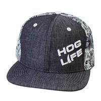Outdoor Crew Men's Midnight Rodeo Hog Life Cap