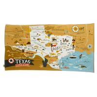 Spartina 449's Texas Map Beach Towel