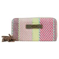 Women's Colorful Woven Wallet