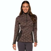 Kerrits Plush Tek Zip Neck Long Sleeve Top