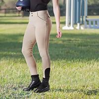 Devon-Aire Granada Ladies Euro Seat Breech - Beige
