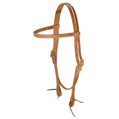 Berlin Custom Leather Mule Browband Headstall