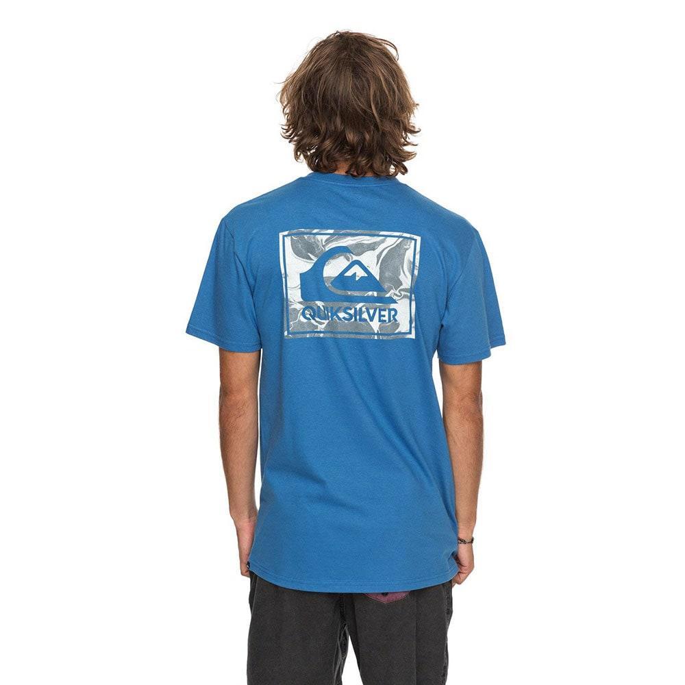 Quiksilver Mens Volcano Blues T- Shirt