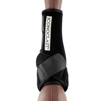 Iconoclast Orthopedic Support Hind Boots in Black - Large