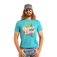 Rock & Roll Denim Men's Dale Brisby Cactus Rodeo Time Tee