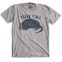 Tumbleweed Texstyles Men's Armadillo Y'all T-Shirt
