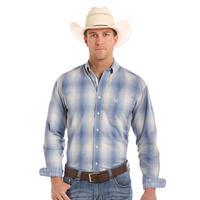 Panhandle Slim Men's Rough Stock Laconia Vintage Ombre Plaid Shirt