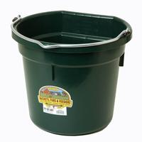 Miller Mfg. Little Giant 20 Qt. Flat Back Bucket, Green