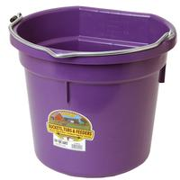 Miller Mfg. Little Giant 20 Qt. Flat Back Bucket, Purple