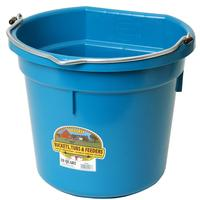 Miller Mfg. Little Giant 20 Qt. Flat Back Bucket, Teal