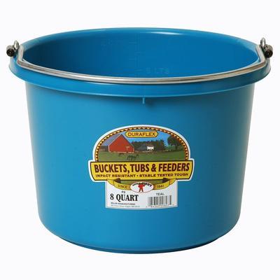 Miller Mfg. Little Giant 8 Qt. Plastic Bucket, Teal