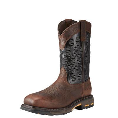 Ariat Men's Composite Workhog Matrix Venttek Work Boots