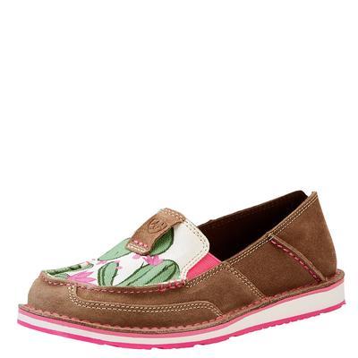 Ariat Women's Cactus Print Cruiser Shoes