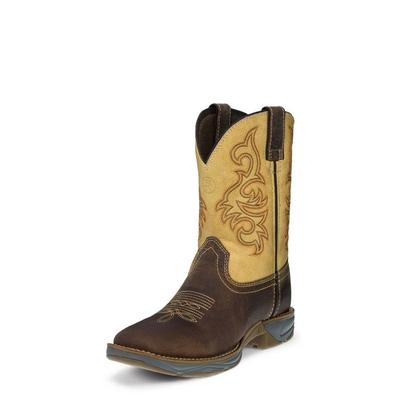 Tony Lama Boy's Spindletop Tan Boots