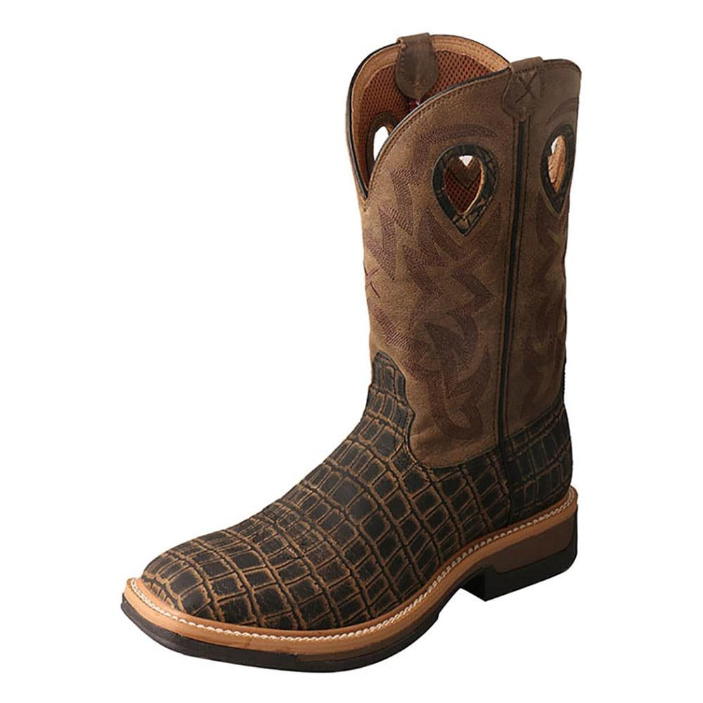 19a96f33f2d Twisted X Mens Lite Caiman Work Boots