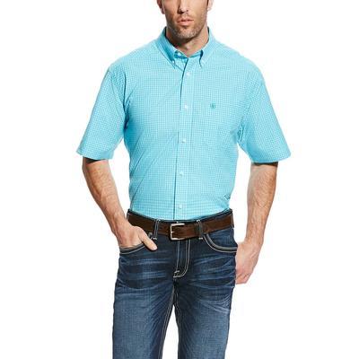 Ariat Men's Pro Series Perfect Turquoise Gunner Shirt