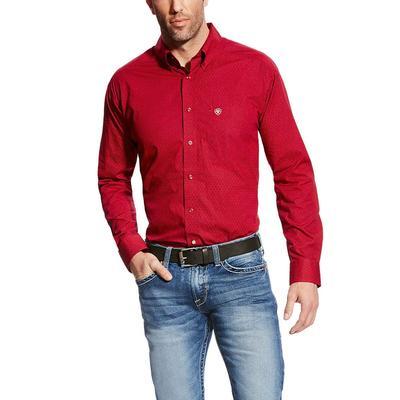 Ariat Men's True Crimson Glen Shirt